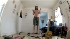 Longest Time Jumping While Throwing Hacky Sack In Air