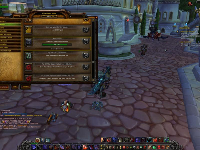 Most Companion Pets In World Of Warcraft