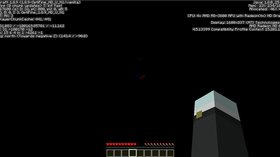 Longest Fall Into the Minecraft Void Without Dying in Survival