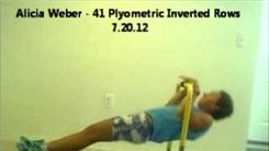 Most Plyometric Inverted Rows
