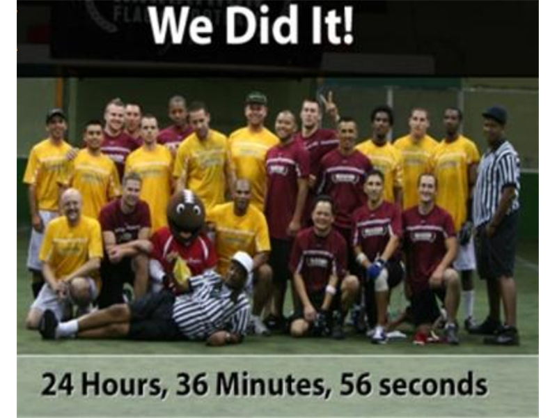 Longest Flag Football Game