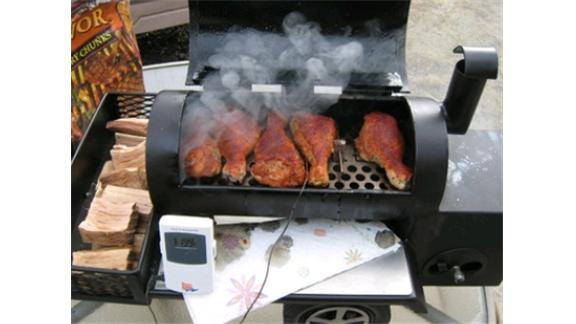 Shortest Offset Reverse Flow Smoker
