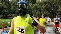 Fastest 18-Mile Run While Wearing A Gas Mask