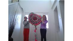 Largest Duct Tape Lollipop
