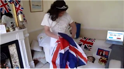 Most Royal Wedding Souvenirs Stuffed Down A Wedding Dress In 30 Seconds