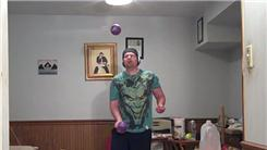 Longest Time To Juggle Two Two-Pound Balls In One Hand While Balancing On One Leg