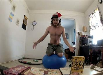 Longest Time Kneeling On An Exercise Ball