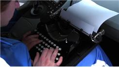 Most Words Of The US  Constitution Typed On A Typewriter In Two Minutes In A Prius