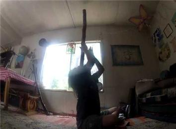 Longest Time Playing And Balancing A Didgeridoo On Lips While Seated