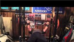 Most Bench Presses Using A 135-Pound Weight