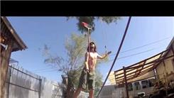 Longest Time Balancing A Broom On One Finger While Slacklining