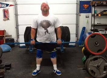 Most Reps Deadlifting A 530-Pound Giant Tire
