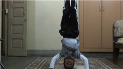 Most Recitations Of The English Alphabet While Doing A Headstand