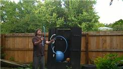 Most Catches Juggling Three Hula Hoops In A Shower Pattern