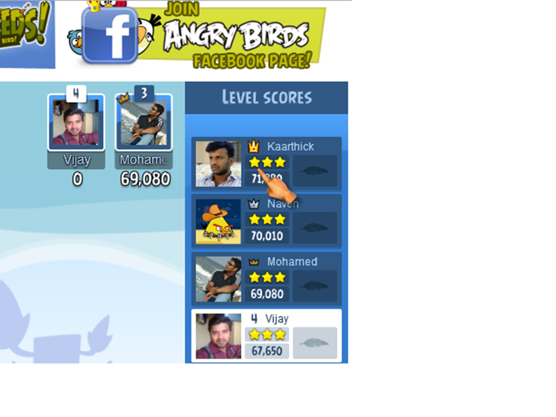 Highest Score On Level 1-5 Of