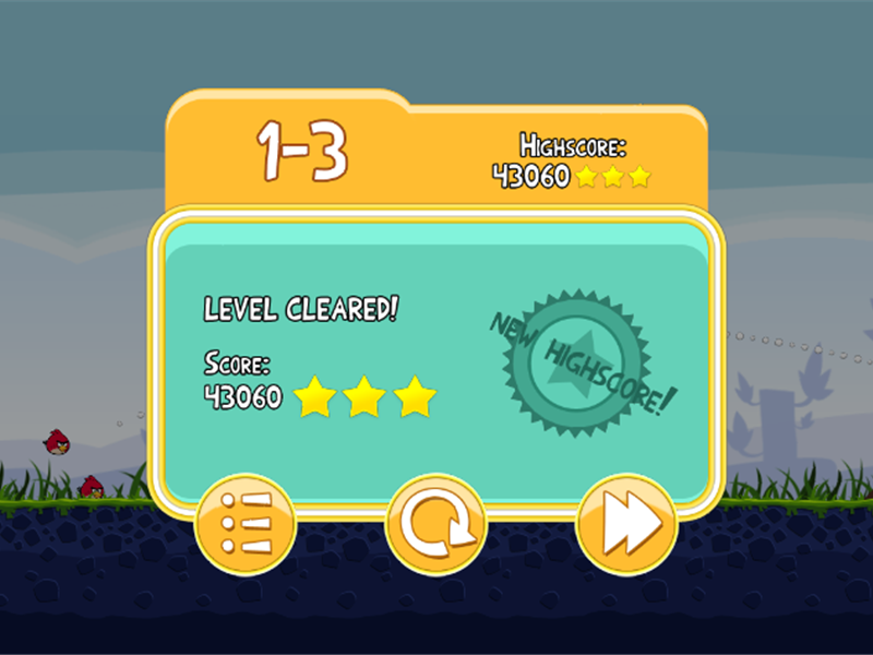 Highest Score On Level 1-3 Of