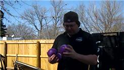 Most Catches Juggling Four Two-Pound Balls In A Shower Pattern