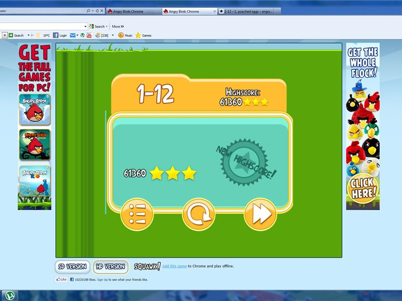 Highest Score On Level 1-12 Of