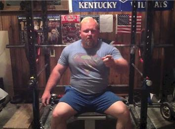 Most Bench Presses Of A 235-Pound Barbell (Athlete Under 235 Lbs.)
