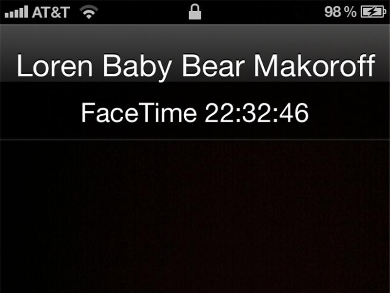 Longest FaceTime Chat