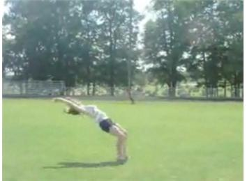 Most Consecutive Back Handsprings
