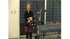Fastest Time To Assemble Bagpipes And Play A Note