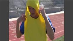 Fastest Time To Complete An 800-Meter Run Dressed In A Banana Costume