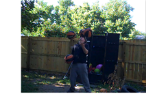 Most Consecutive Catches Juggling Three Basketballs While Balancing A Basketball On Forehead