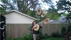 Most Sombreros Flashed In A Juggling Pattern