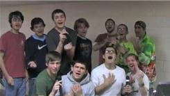 Largest Group Of Males Singing A Backstreet Boys Song On Karaoke
