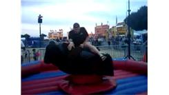 Shortest Mechanical Bull Ride