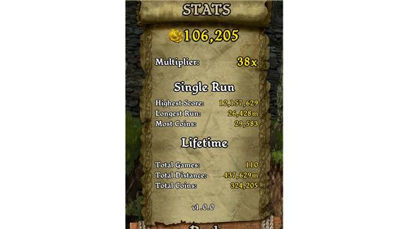 Longest Run In Temple Run: Brave