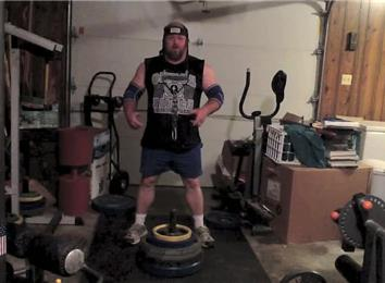 Heaviest Weight Lifted Using A Neck Lift Harness