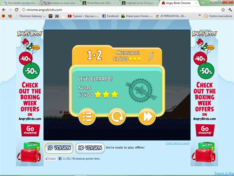 Highest Score On Level 1-2 Of