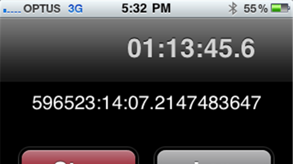 Most Hours Logged On An iPod Stopwatch