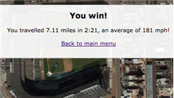 "Fastest Trip From Willis Tower To Wrigley Field In ""Real World Racer"" (Online)"