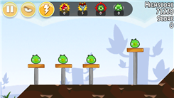 "Highest Score On Level 1-2 Of ""Angry Birds - Poached Eggs"""