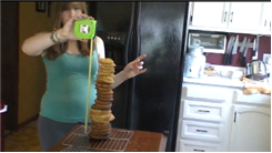 Tallest Homemade Cookie Tower