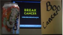 Most People To Crush A Can For Cancer