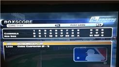 "Most Runs Scored By A Team In A Nine-Inning Game On ""MLB 2K5: World Series Edition"" (Xbox)"