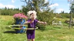 Most Times For A Six-Year-Old To Spin A Hula Hoop