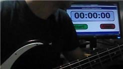Fastest Time To Play Every Note On A Bass Guitar
