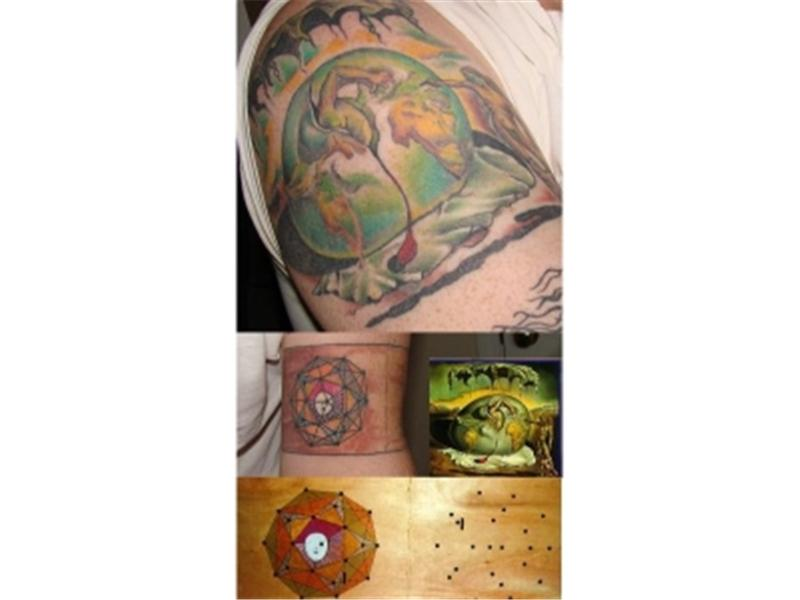 Most Salvador Dali Tattoos