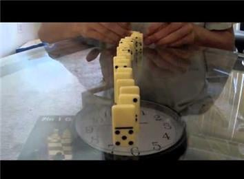 Fastest Time To Set Up A Domino Chain