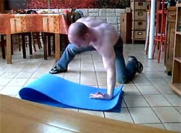 Most One-Armed Back-Of-Hand Push-Ups In One Minute