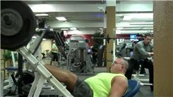 Most Leg Presses Using A 900-Pound Weight