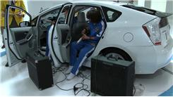Most People Bending High Notes On Electric Guitars At Once In A Toyota Prius
