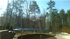 Most One-Foot Back Flips On A Trampoline In 30 Seconds