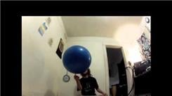 Longest Time Balancing A Yoga Ball On One Finger