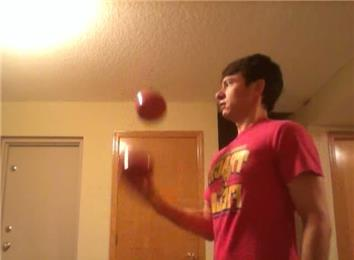 Longest Time Juggling Two Four-Pound Balls With One Hand